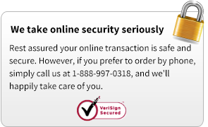 We take online security seriously