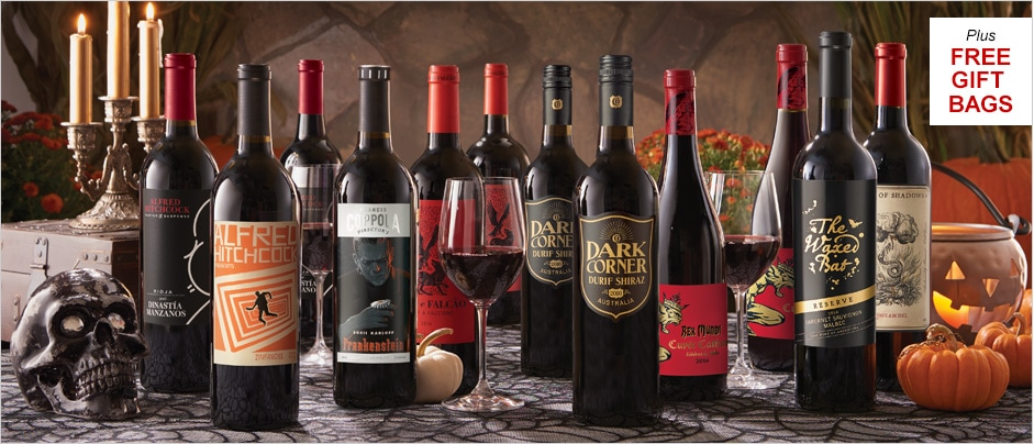 NEW Halloween Collection: Taste Our Deepest, Darkest Reds ... If You Dare!