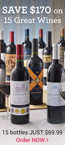 Save $170 on Top-Estate Wines